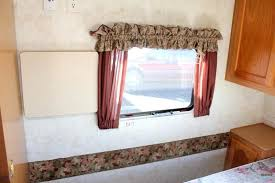 rv window curtains how to remove outdated window coverings from your camper its easy to remove rv window curtains