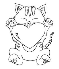 Small Picture Printable Happy Valentine Dog With Heart Coloring Pages Archives
