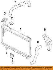 gm car truck cooling systems for geo prizm geo gm oem 89 92 prizm 1 6l l4 radiator mount bracket 52452920 fits geo prizm