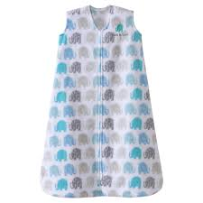 Halo Fleece Sleepsack Size Chart Halo Sleepsack Micro Fleece Wearable Blanket Blue Gray