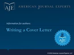 How To Write A Cover Letter For A Journal Writing A Cover Letter For Your Scientific Manuscript