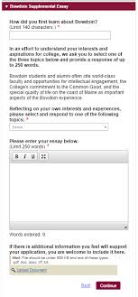 the ultimate guide to applying to bowdoin college bowdoin common app supplemental essay section