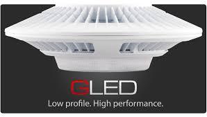gled led garage light fewer fixtures