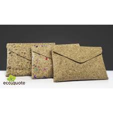 Envelope Design Handmade Ecoquote Envelope Design Sling Bag Handmade Cork Material Great For Vegan