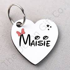 details about personalised name keyring mickey minnie mouse key ring dis ney style