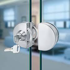 glass door lock 10set display cabinet locks double showcase