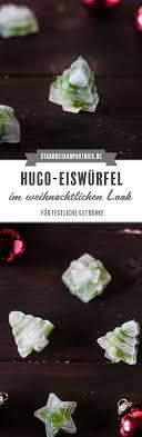 Hugo Eiswürfel Im Weihnachtlichen Look