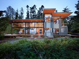 Seattle Architect Contemporary House Plans Home Design Ideas    Modern metal exterior in Seattle