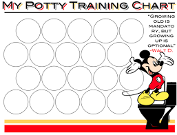 Free Printable Mickey Mouse Potty Training Chart Great Potty Training Charts Potty Training Potty Sticker