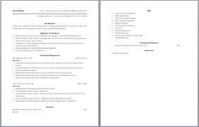 Gallery Of 10 Bartending Resume Best Template Writing Resume Sample
