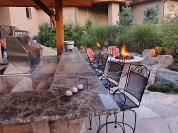 Outdoor Patio Kitchen Cheap Outdoor Kitchen Ideas Hgtv