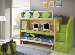 trundle bunk bed storage stairs and a desk cool double modern loft