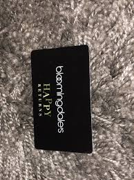 bloomingdales gift card 199 1 of 1