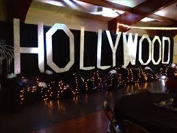 Hollywood theme prom - Hollywood sign - Reitz High School