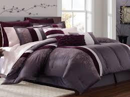 Purple And Grey Bedroom Black And Purple Comforter Sets Grey Purple Bedroom Purple And