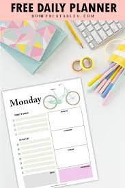 free daily planner printables free printable daily planner beautiful and practical templates