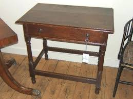 antique oak side table with drawer antique table century oak side table antique small oak side