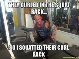 Image result for curls in the squat rack