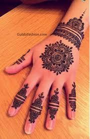 Mehandi Model Design Mehndi Desings For Hands Beautiful Mehandi Design Gulabi