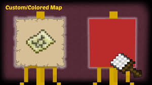 Minecraft How To Make A Custom Colored Map
