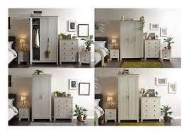 Image Is Loading Lancaster Bedroom Sets 3 Or 4 Piece Wardrobe