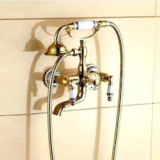 bathtub faucet with handheld shower freestanding bathtub faucet with hand shower hand