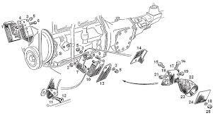 mgb engine mountings