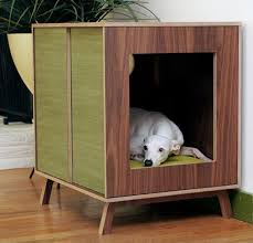 Furniture: Small Indoor Dog House Ideas - Dog Crates