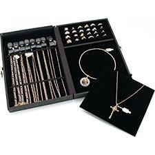 Jewelry Designs Premier Display Case Travel Storage New