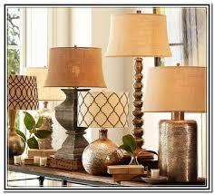 pottery barn table top lamp design ideas
