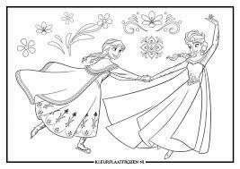 Kleurplaten Van Frozen Voor De Kids Om In Te Kleuren