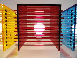 cool lighting design. Cool Interior Lighting Design Of Ruby Red Cubes Color Table Lamp By Andarina Designs NY