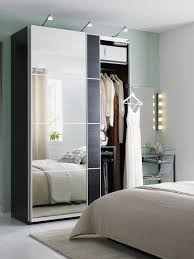 ikea pax wardrobe lighting. ideas for markyu0027s college bedroom mirrored wardrobe doors like auli pax are clever small space multitaskers they hide your clothes and reflect light ikea pax lighting n
