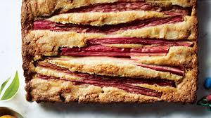 Rhubarb Almond Cake Recipe