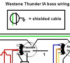 westone thunder ia bass wiring  at Westone Thunder 1a Wiring Diagram