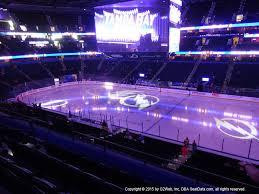 Amalie Arena View From Club Level 214 Vivid Seats