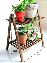 indoor flower stand pot stands wooden plant like this