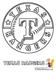 Small Picture 13TexasRangersbaseballcoloringat coloring pages book for kids