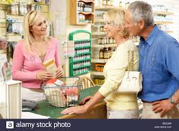 female s assistant in health food store stock photo royalty female s assistant in health food store