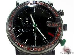 17 best images about diamond gucci watch nyc round men s ruby encrusted g dial gucci watch