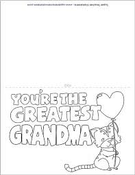 You may send these cards via email, but almost all of. Mother S Day Card For Grandma Mothers Day Coloring Cards Grandma Cards Grandma Birthday Card