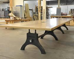industrial inspired furniture. Modern Boardroom Table Industrial Inspired Furniture