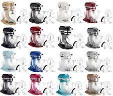 kitchenaid mixer colors. kitchenaid stand mixer ksm154gb 5-qt w/glass bowl+flex edge beater several kitchenaid colors