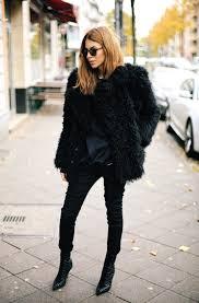 faux fur coats trend