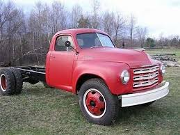 1949 Studebaker pickup truck, flat bed. My Dad bought one just like ...