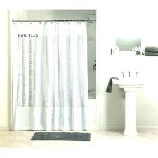 standard shower curtain lengths average size extra long waffle with normal length uk standard shower curtain lengths