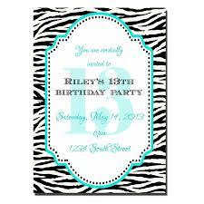 Free 13th Birthday Invitations 13th Birthday Party Invitations Printable Free Free Printable