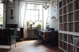 funky home office. Home Office - Industrial Home Idea In Montreal Funky W