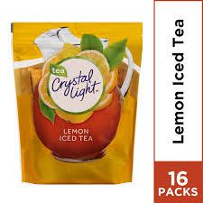 Crystal Light Lemon Iced Tea Powdered Drink Mix 16 Ct Oz