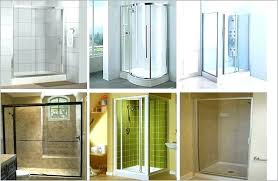 types of shower glass door these units e in a variety diffe colors finishes and doors types of shower glass